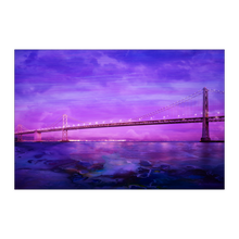 Moody Bridge Poster - Jud Hayden Art