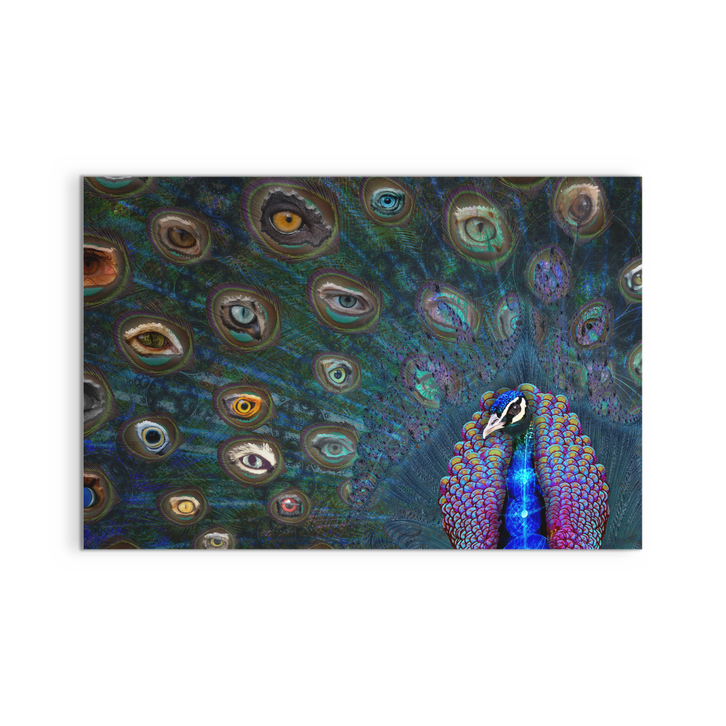 All Seeing Eye Canvas - Jud Hayden Art
