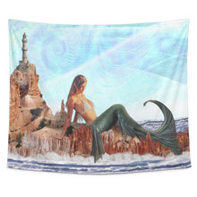 Mermaid Tapestry - Jud Hayden Art
