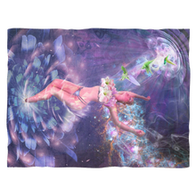 Nectar of Life Fleece Blanket - Jud Hayden Art