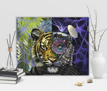 Bionic Tiger Canvas