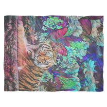 Butterfly Garden Fleece Blanket - Jud Hayden Art