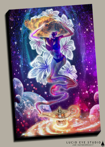 Celestial Wishes Canvas