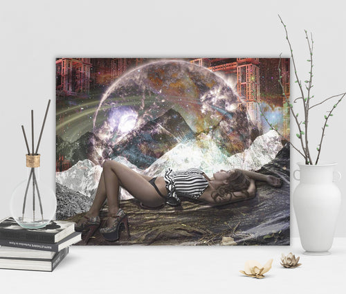 Cosmic View Canvas