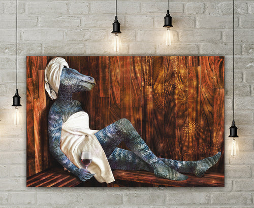 Dino Spa Canvas