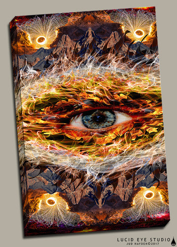 Eyecano Canvas - Jud Hayden Art