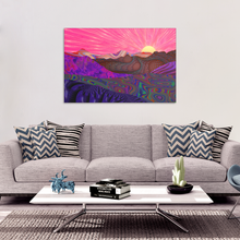 Trippy Trek Canvas - Jud Hayden Art