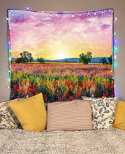 Mandala Meadows Tapestry - Jud Hayden Art