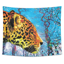 Prowling Paws Tapestry - Jud Hayden Art
