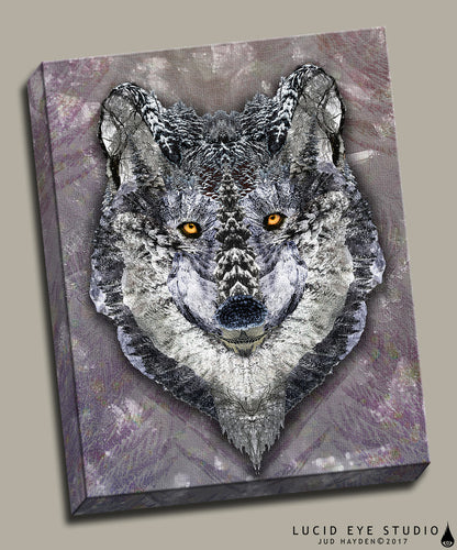 Lone Wolf Canvas