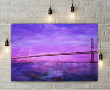 Moody Bridge Canvas - Jud Hayden Art