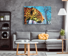 Prowling Paws Canvas - Jud Hayden Art