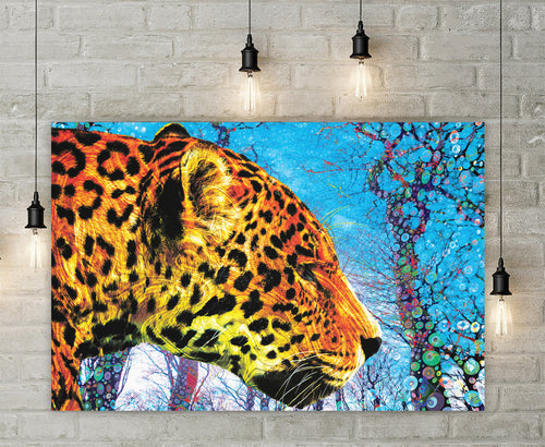 Prowling Paws Canvas