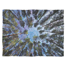 Trunk Vision Fleece Blanket - Jud Hayden Art