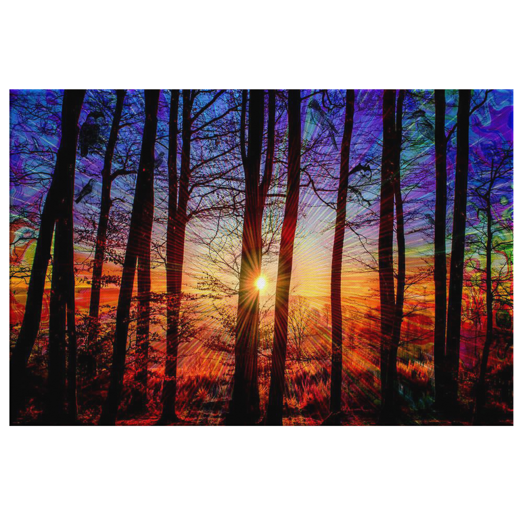 Sunrise Canvas - Jud Hayden Art