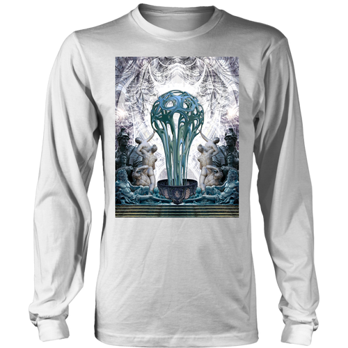 Statues Long Sleeve - Jud Hayden Art