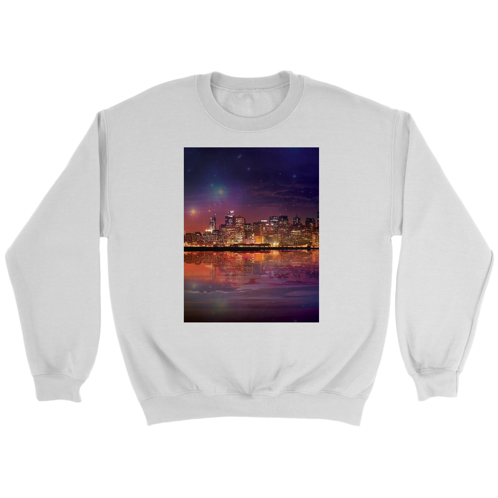 Dark As The Sky Sweatshirt - Jud Hayden Art