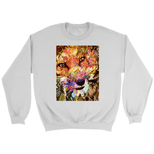 Sly Fox Sweatshirt - Jud Hayden Art