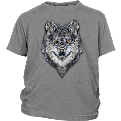 Lone Wolf Youth Tee - Jud Hayden Art
