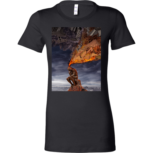 Thinker Women's Shirt - Jud Hayden Art