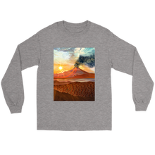 Lava Flow Long Sleeve - Jud Hayden Art