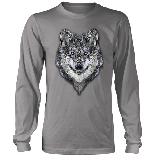 Lone Wolf Long Sleeve - Jud Hayden Art