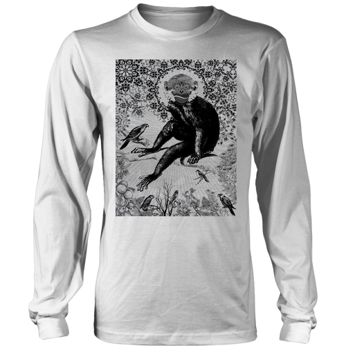 Paisley Monkey Long Sleeve - Jud Hayden Art
