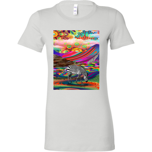 Rainbow Land Women's Shirt - Jud Hayden Art