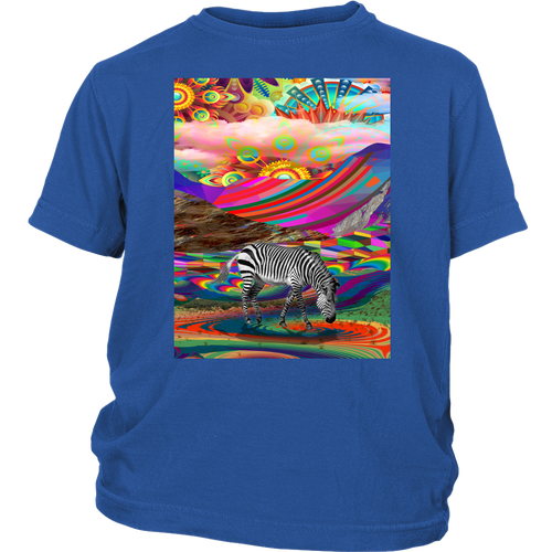 Rainbow Land Youth Tee - Jud Hayden Art