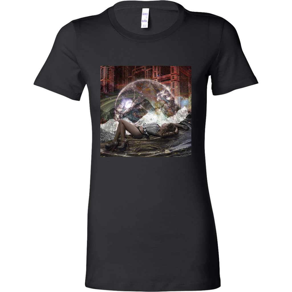 Cosmic View Women's Shirt - Jud Hayden Art