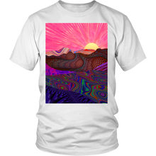 Trippy Trek Tee - Jud Hayden Art