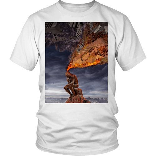 Thinker Tee - Jud Hayden Art