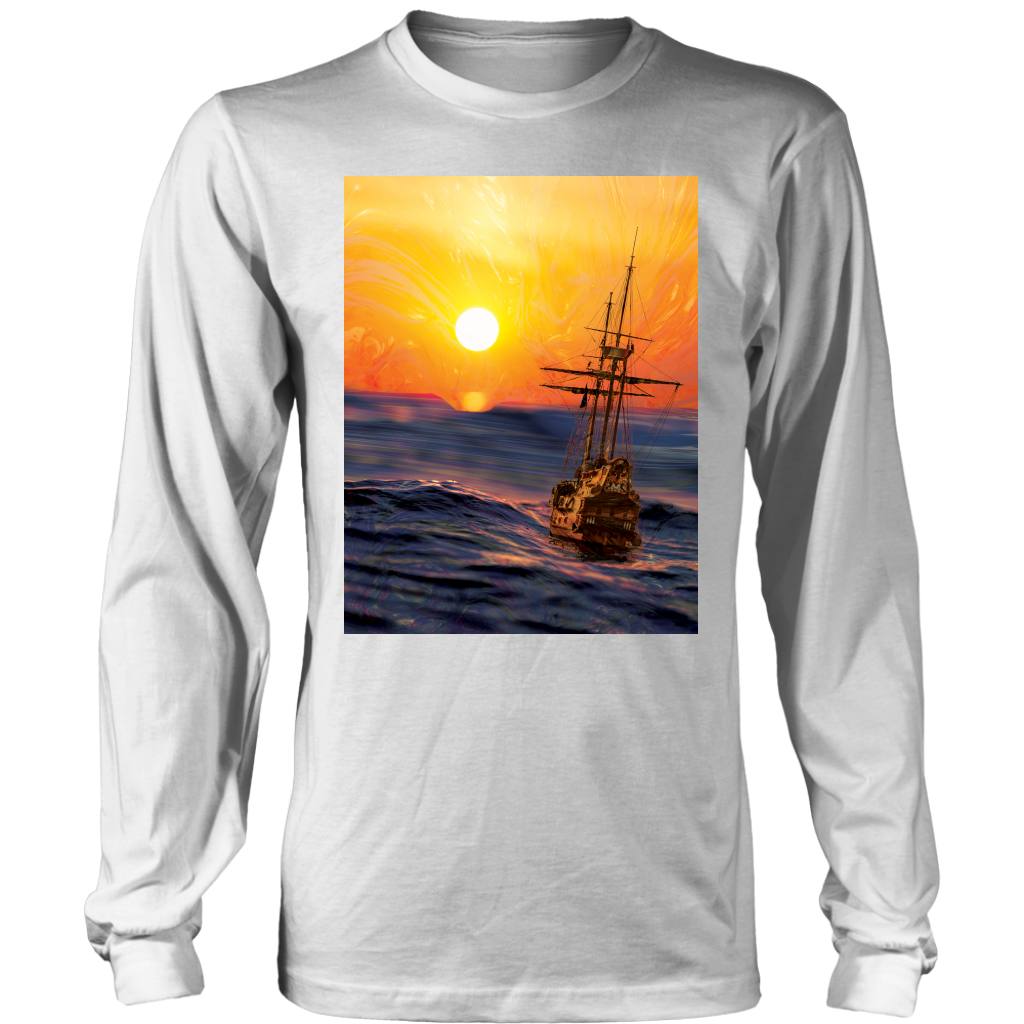Sailing Sun Long Sleeve - Jud Hayden Art