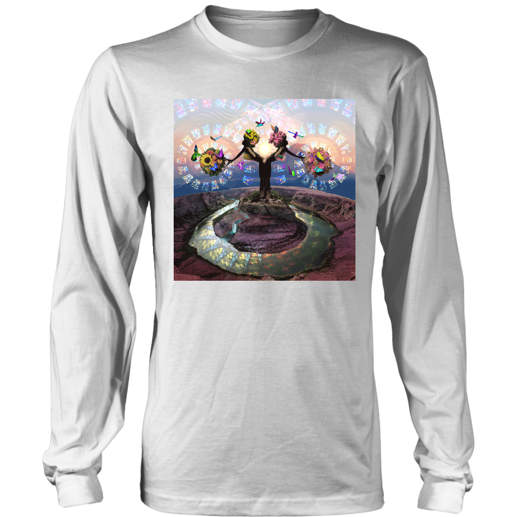 Full Bloom Long Sleeve - Jud Hayden Art