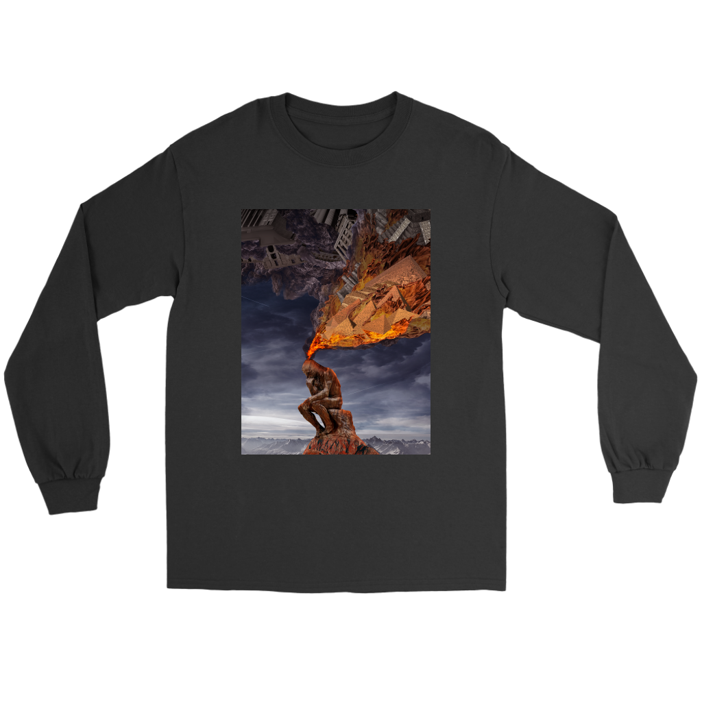 Thinker Long Sleeve - Jud Hayden Art
