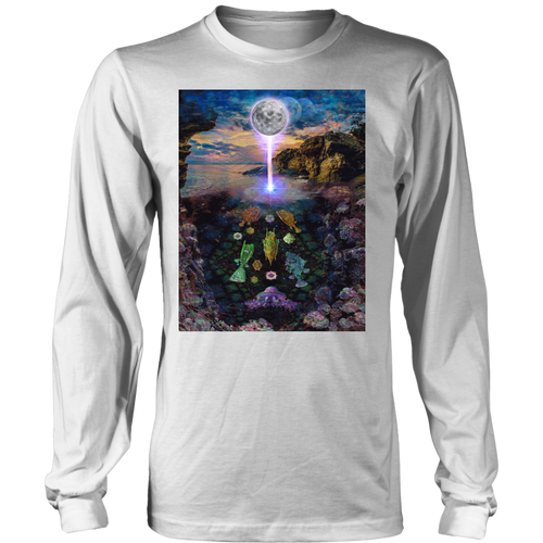 Sacred Tide Long Sleeve - Jud Hayden Art