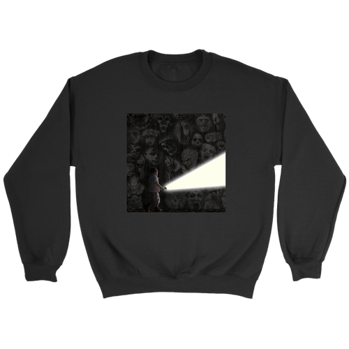 Lighting the Way Sweatshirt - Jud Hayden Art