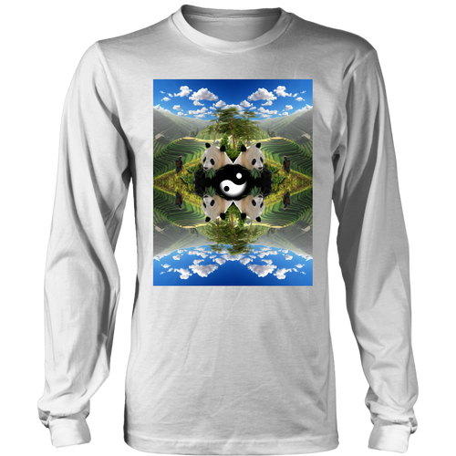 Pandaland Long Sleeve - Jud Hayden Art