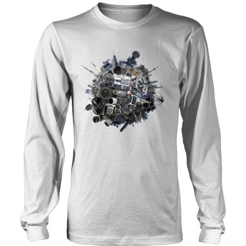Lucid Eye Long Sleeve Shirt - Jud Hayden Art