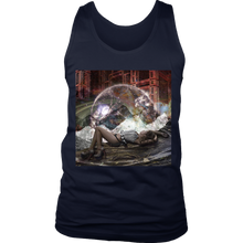 Cosmic View Men's Tank - Jud Hayden Art