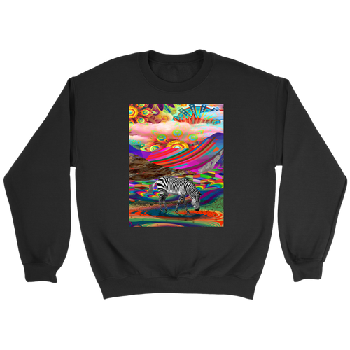 Rainbow Land Sweatshirt - Jud Hayden Art