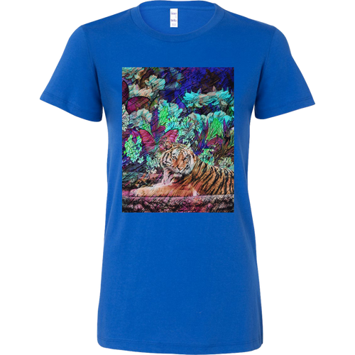 Butterfly Garden Women's Shirt - Jud Hayden Art