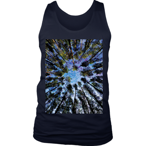 Trunk Vision Men's Tank - Jud Hayden Art