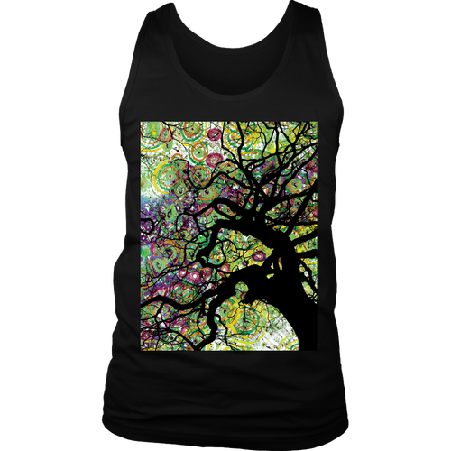 Radial Roots Men's Tank - Jud Hayden Art