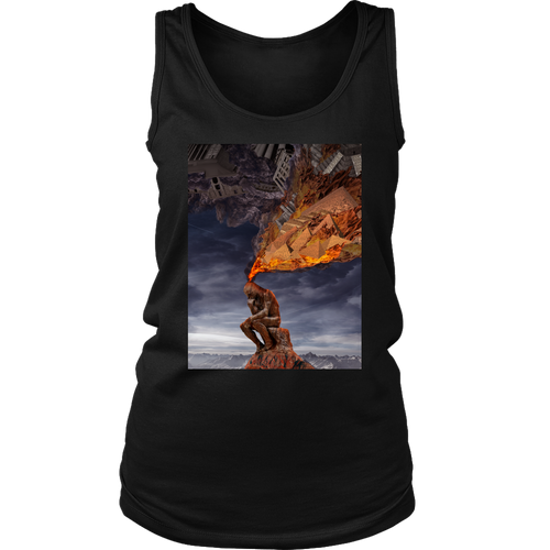 Thinker Women's Tank - Jud Hayden Art