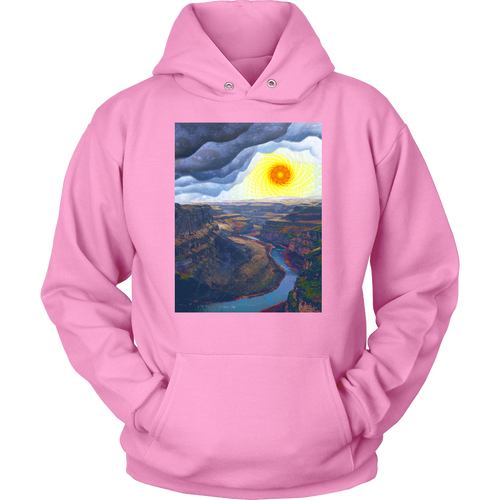 Ancient Canyon Hoodie - Jud Hayden Art