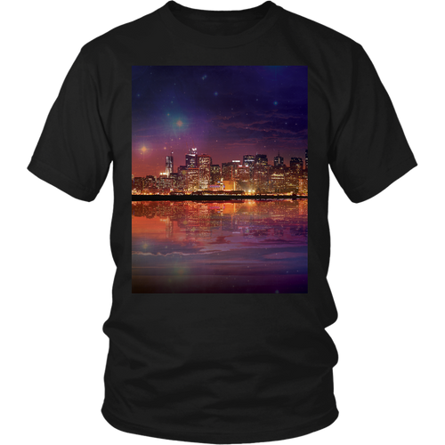 Dark As The Sky Tee - Jud Hayden Art
