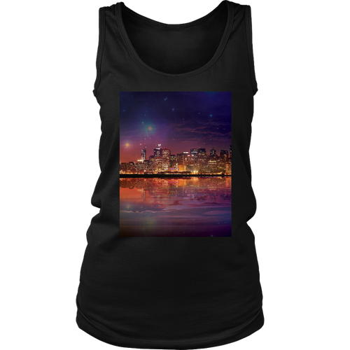 Dark As The Sky Women's Tank - Jud Hayden Art
