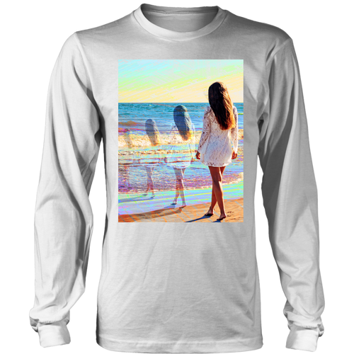 Water Trails Long Sleeve - Jud Hayden Art
