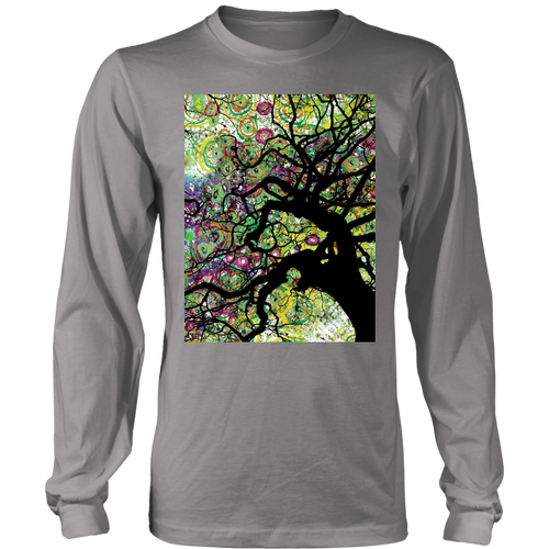 Radial Roots Long Sleeve - Jud Hayden Art